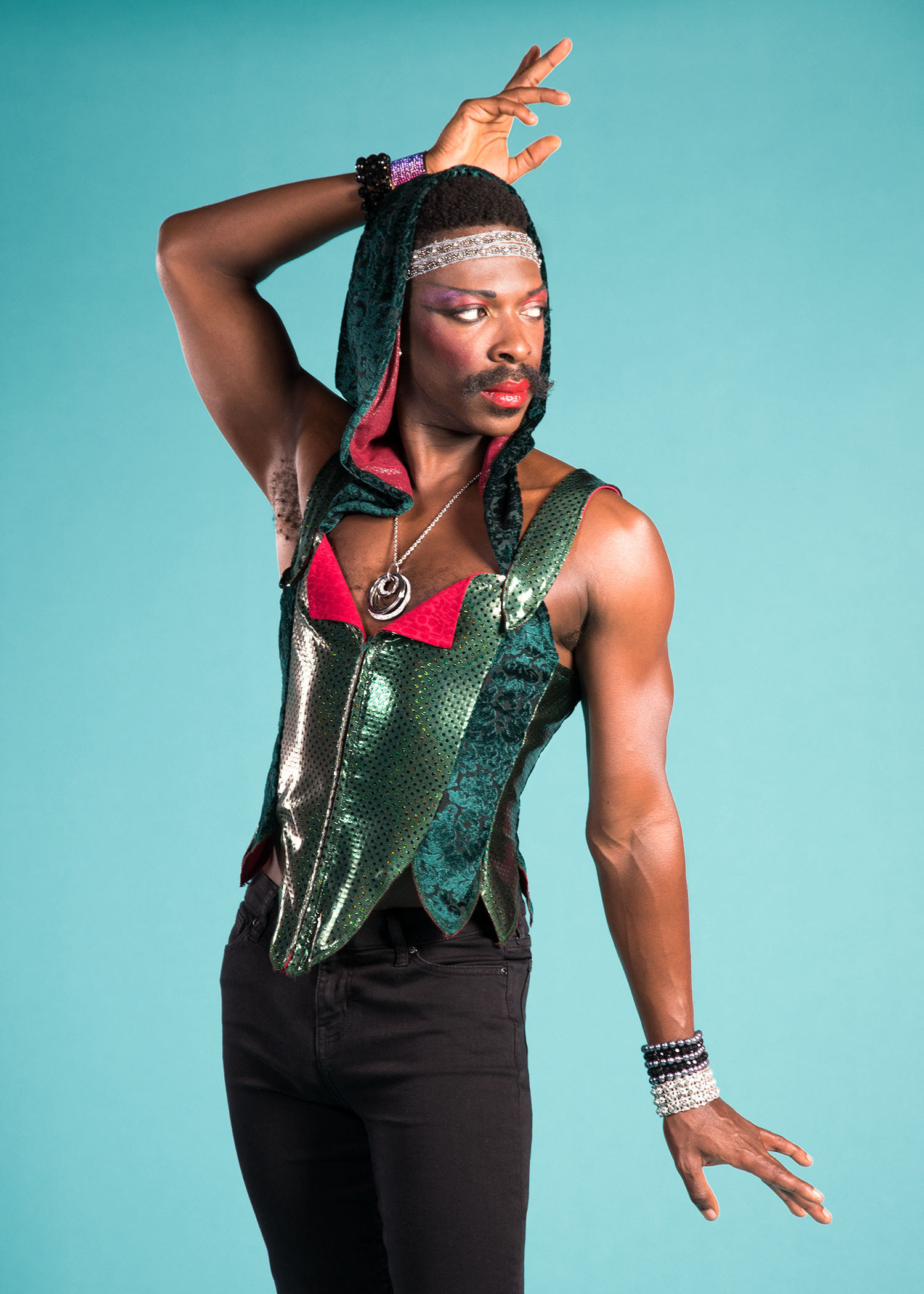 Pictured: Rotimi Agbabiaka*. Photo by Lois Tema. *Appears through the courtesy of Actors' Equity Association, the Union of Professional Actors and Stage Managers in the United States.