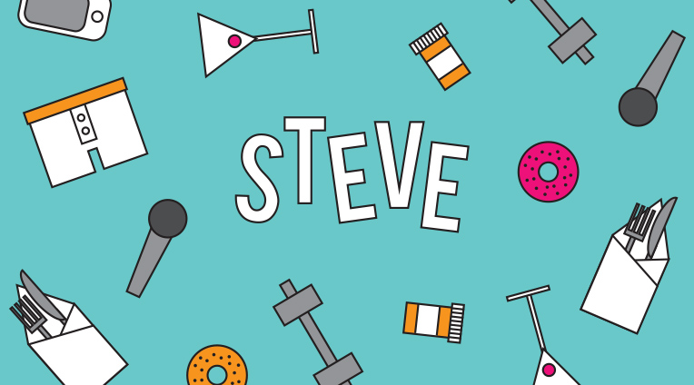 Chock full of acidic wit, musical theatre references, and plenty of heart, Steve is a hilarious and relatable comedy about growing up, without growing old.